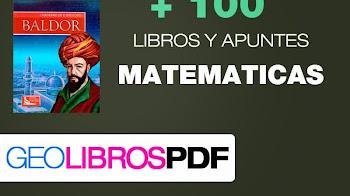 +100 libros y apuntes de Matematicas - descargar ahora !