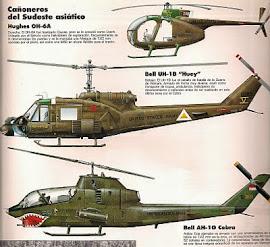 HELICOPTEROS EN VIETNAM