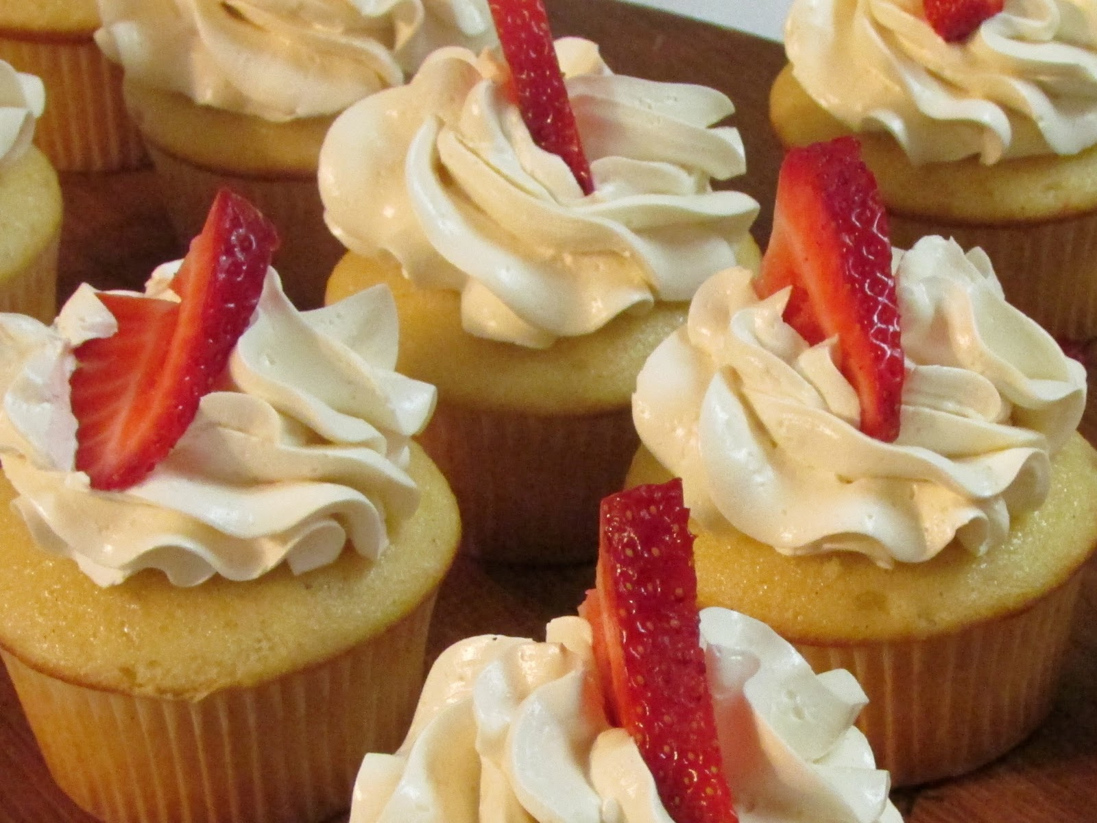 Strawberry Surprise Cupcakes Recipes — Dishmaps