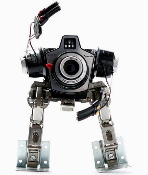 reciclagem - Robô de Câmera Fotográfica