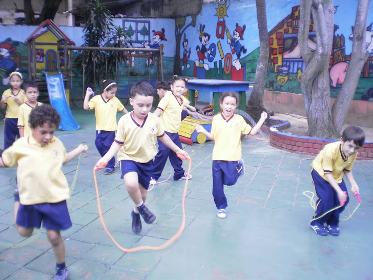 Saltando la cuerda, nuestra actividad preferida