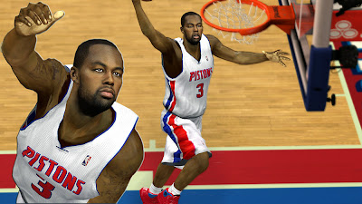 2K Rodney Stuckey Face
