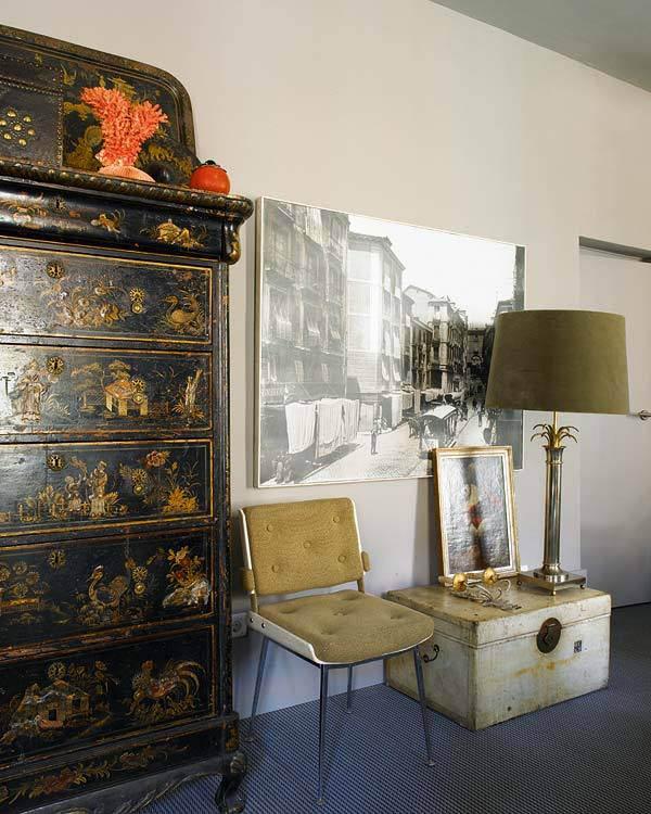como decorar con muebles chinos -baul-cajonera
