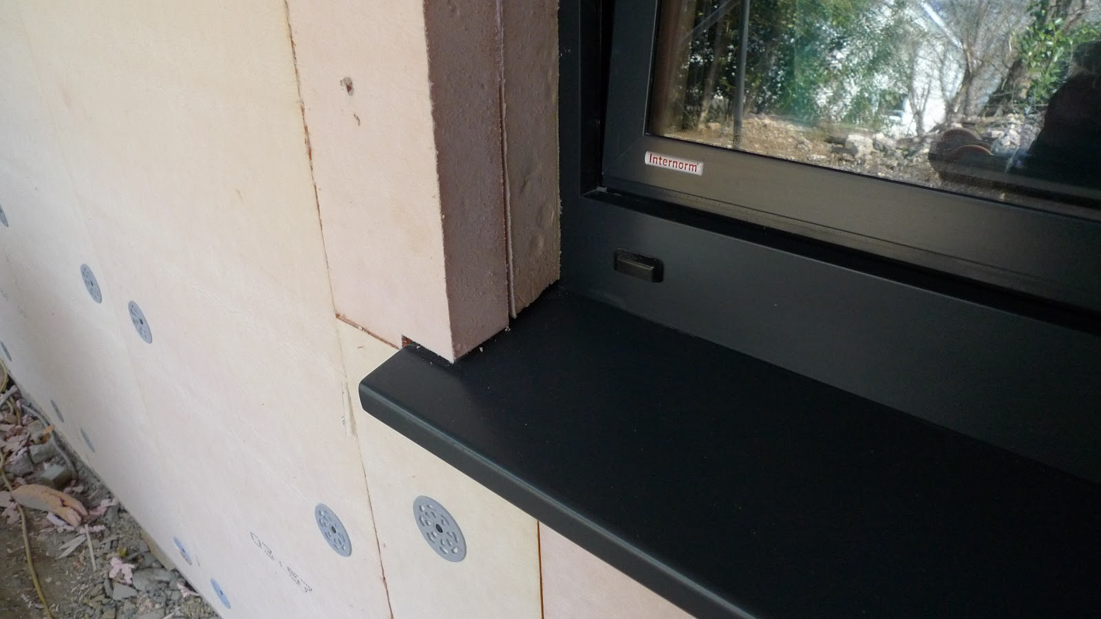 Passivhaus refurb the story of the totnes passivhaus for Window insulation
