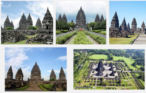 Ilustration Of Virtual Tour Of The Prambanan Temple