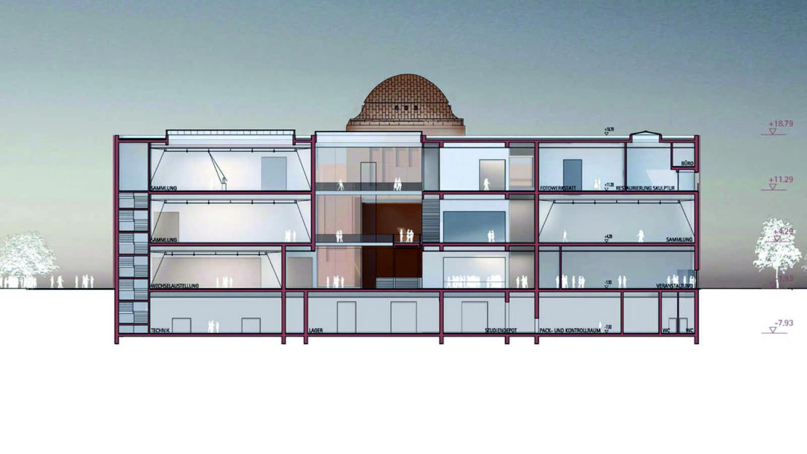 Architekten In Mannheim kunsthalle mannheim by gmp architekten