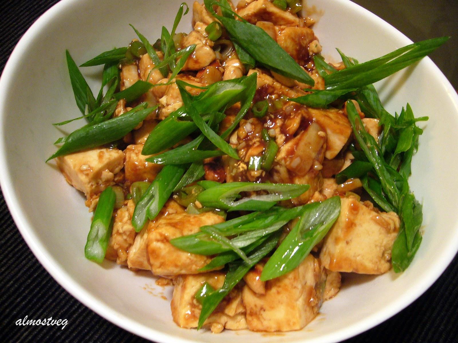 almostveg: Kung Pao tofu