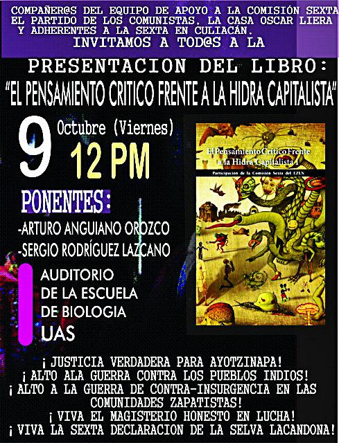 Escuela de Biología de la Universidad Autónoma de Sinaloa a las 12:00