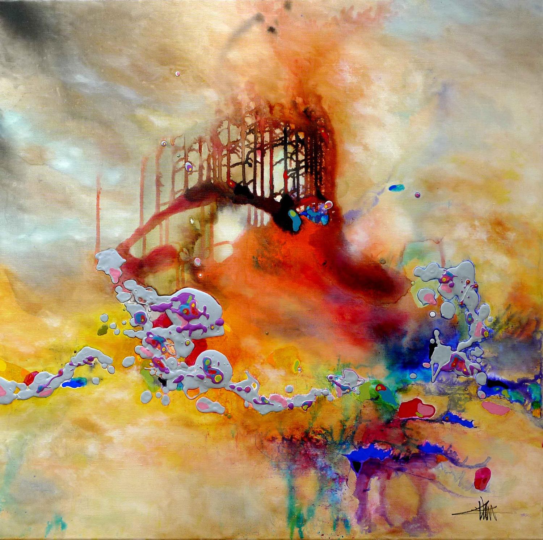 voir image - Tableau Abstrait Color