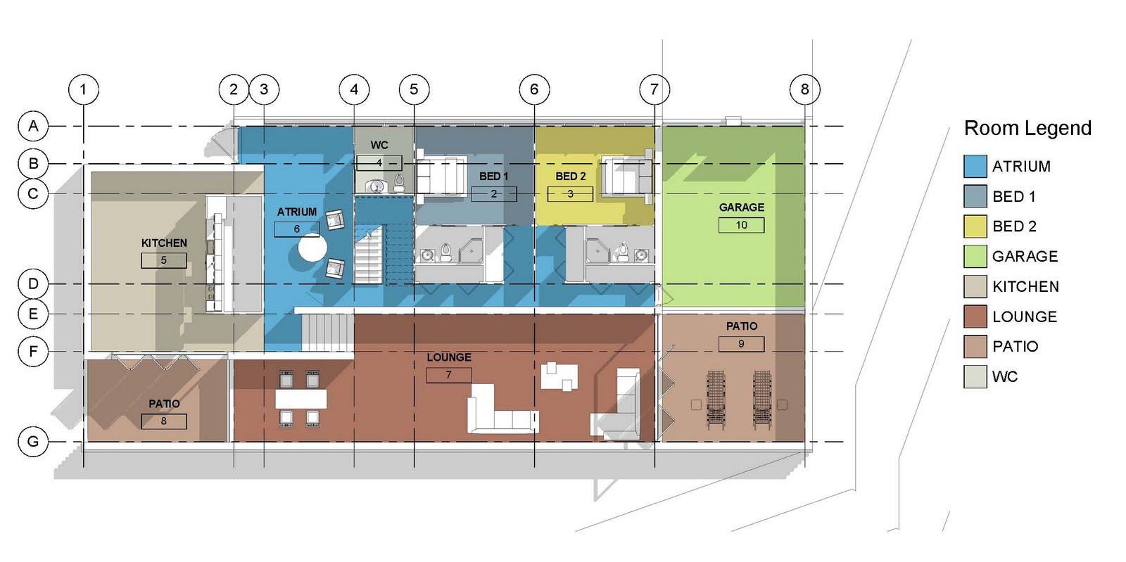 Revit Detail 13 8 Modern House Presentation Styles