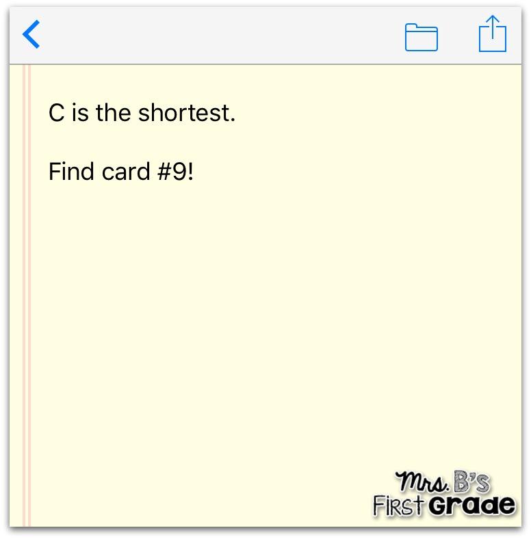QR Code Math Scavenger Hunt Mrs Bs First Grade – Math Scavenger Hunt Worksheet
