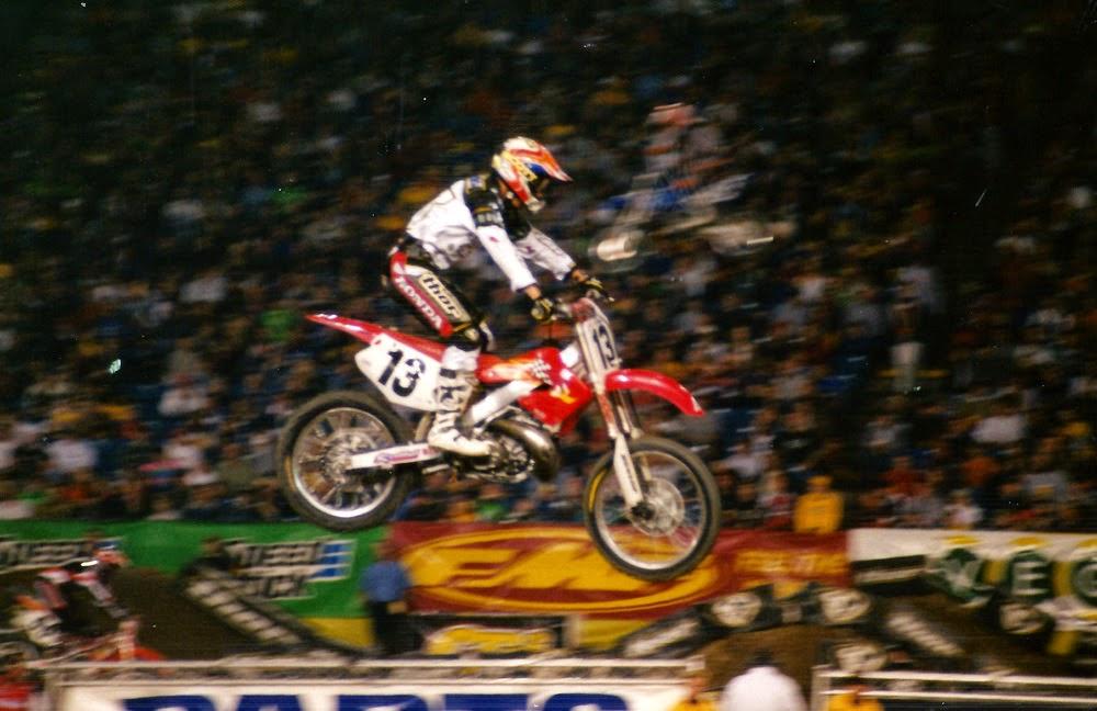 Sebastian Tortelli Pontiac Supercross 2001