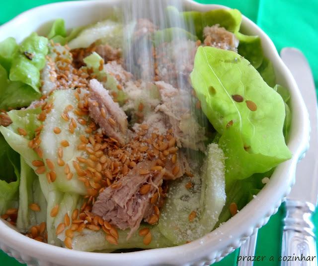 prazer a cozinhar - Salada de lombo