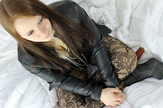 patterned tights style