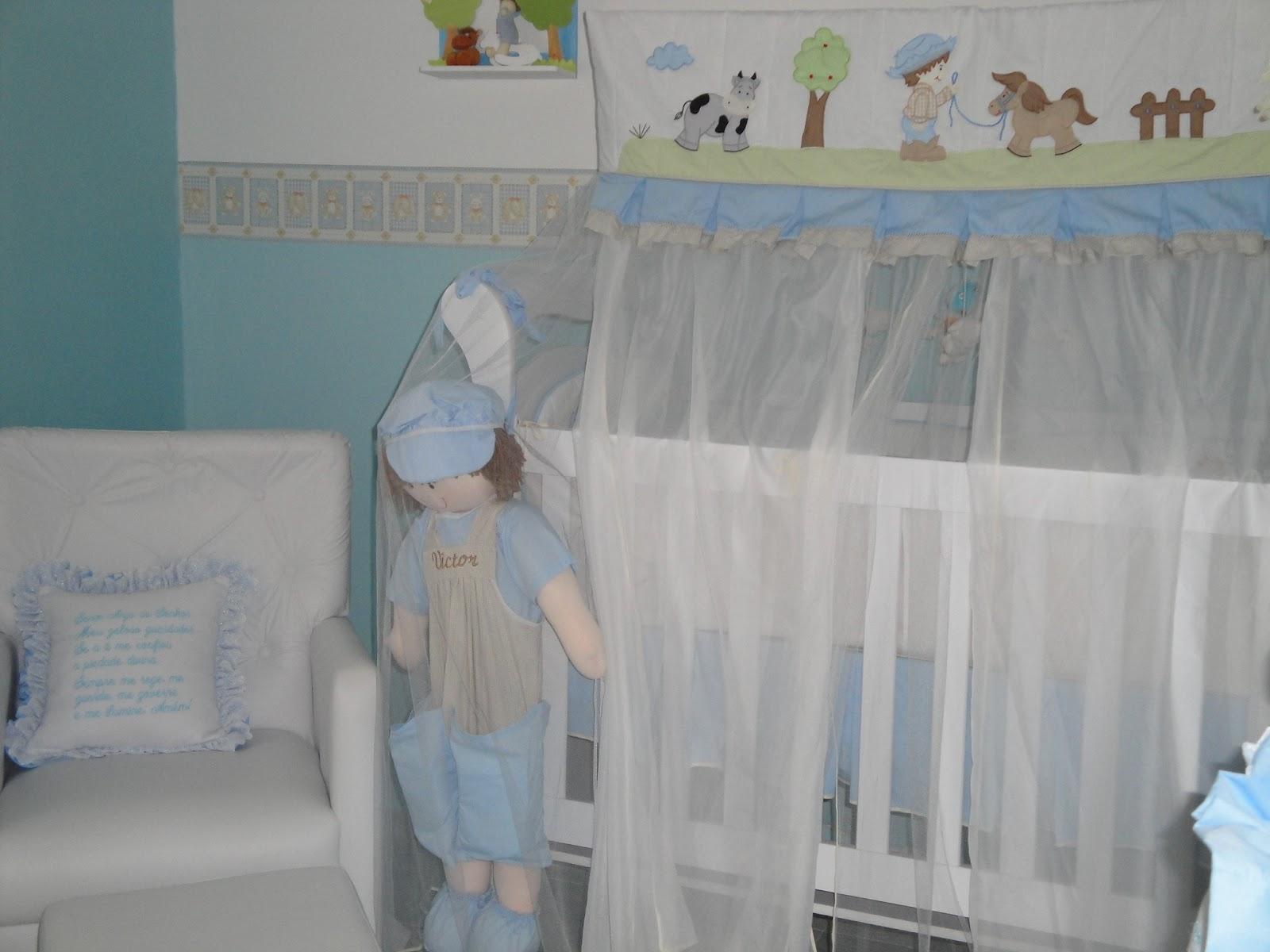 Quarto De Bebe Decorado Fazendinha ~   Decora??o de Maternidade Quarto de beb? com o tema da Fazendinha