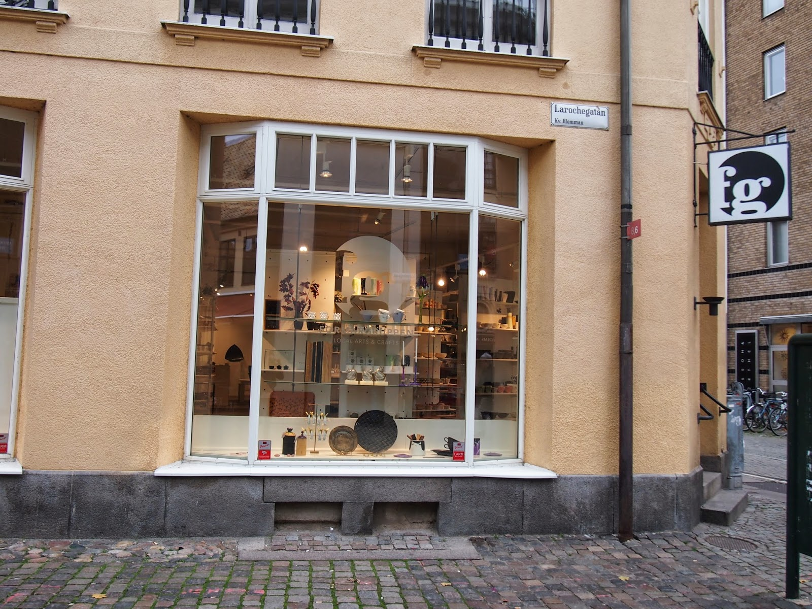 Formargruppen, a local arts and crafts store, in Malmo, Sweden