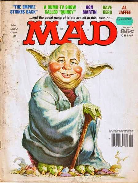 mad magazine yoda