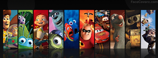 Télécharger des couverture facebook Pixar