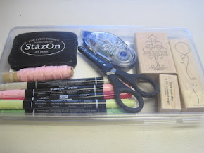 MAKE A CARD KIT THAT FITS IN YOUR PURSE!