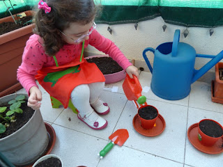 Pequena jardineira