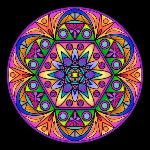 La informaci n clave unos minutos para el relax los - Mandalas en colores ...