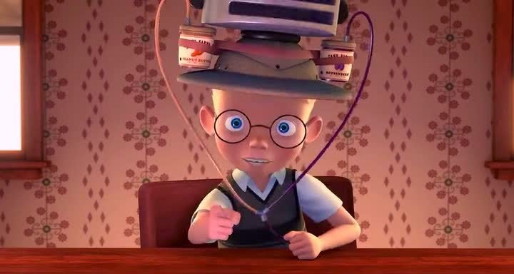 Meet The Robinsons 720p Hindi 376MB