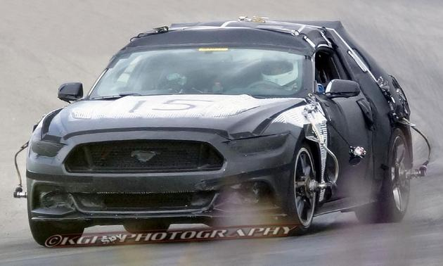 New 2015 Ford Mustang Spy Shots