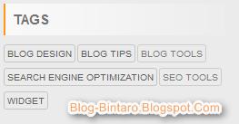 Mengkostumisasi Tampilan Labels Cloud di Blogger