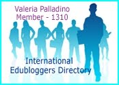Listed in the International Edublogger