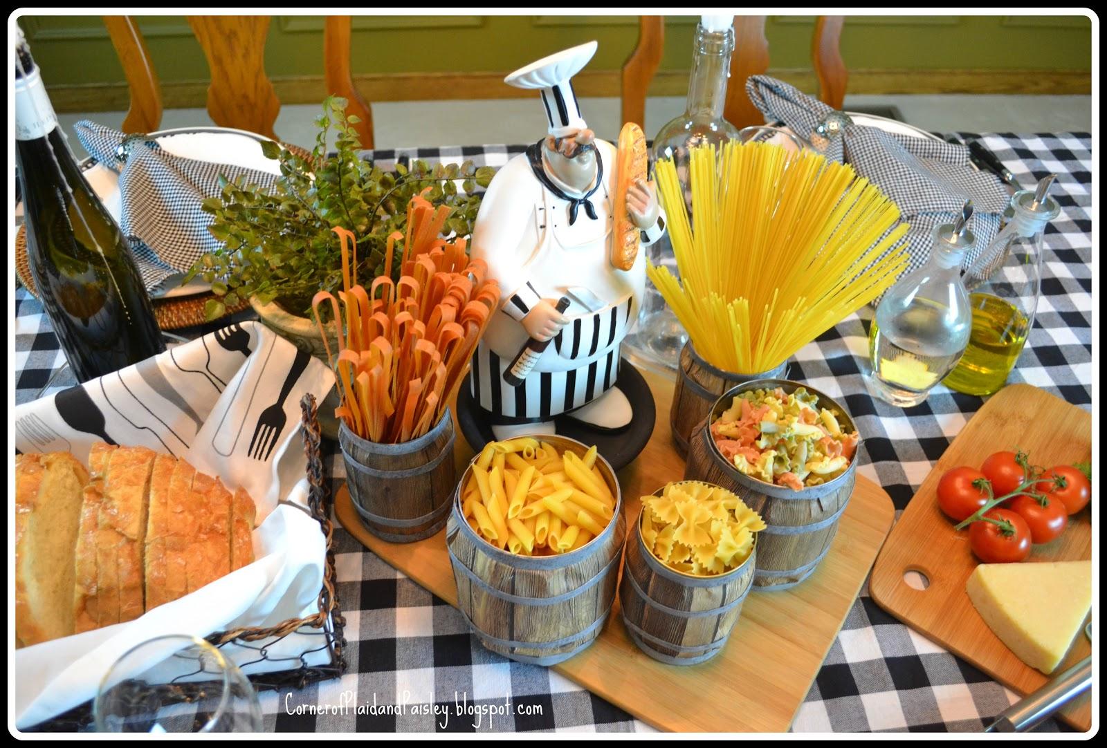 Italian Dinner Tablescape Pinterest