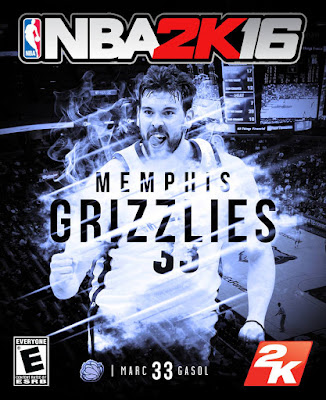 NBA 2K16 Custom Covers - Memphis Grizzlies
