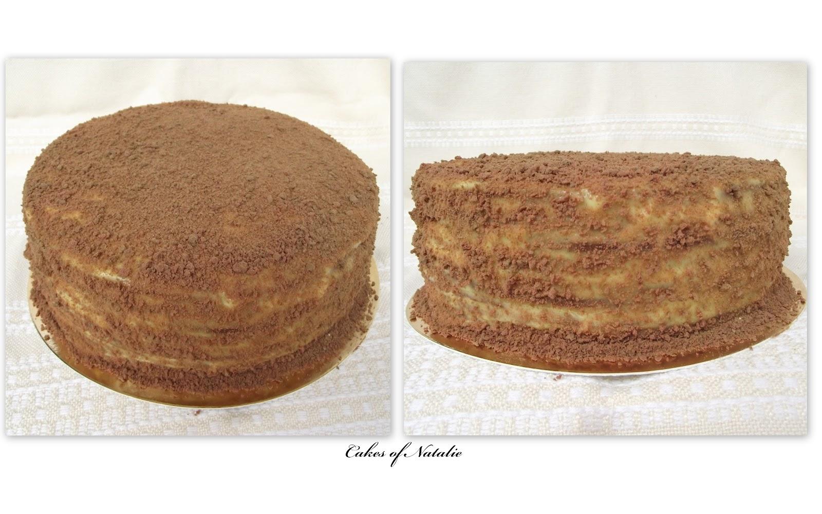 Песочный торт рецепт пошагово в домашних