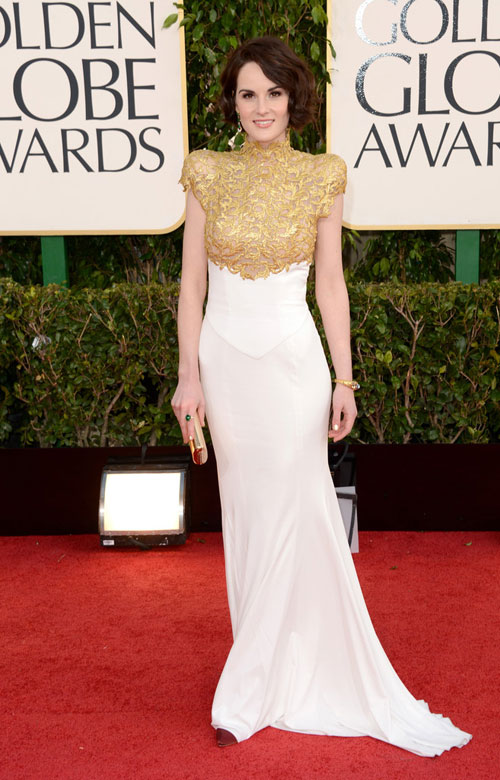 Michelle Dockery in Alexander Vauthier Couture, Couture gown, Award show gown, Gorgeous gown