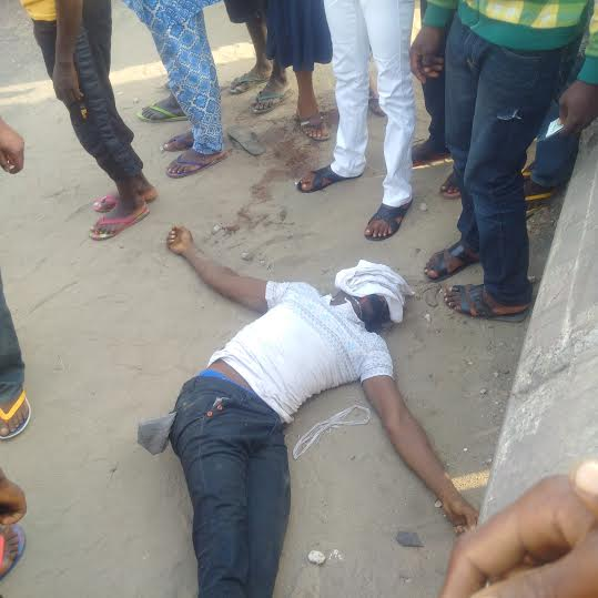 SAD: Okada Rider Killed By Suspected Ritual Killers In Lagos, Eyes Plucked Out
