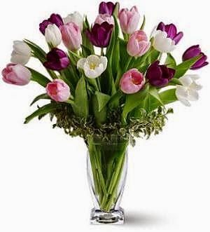 Tulips Flower Basket Delivery in  Kuwait