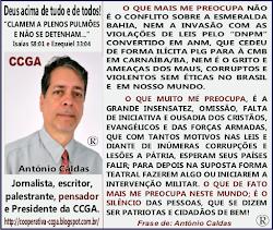 Reflexões com António Caldas: