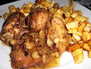 pollo en pebre