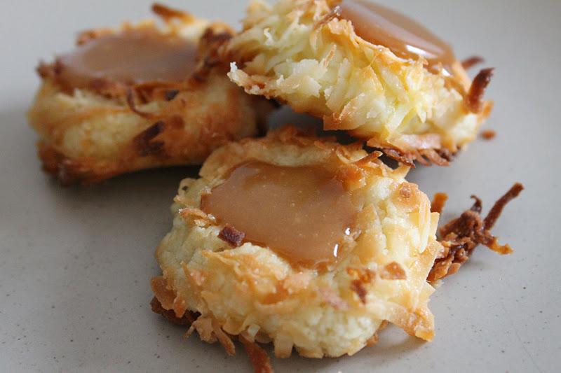 VanHook & Co.: Caramel thumbprint cookie recipe