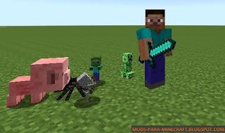 Iskall Mini Mobs Mod para Minecraft 1.7.10