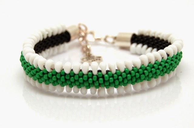 bransoletka koralikowa bead crochet bracelet inati zare 14