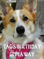 Tag's Birthday Giveaway...