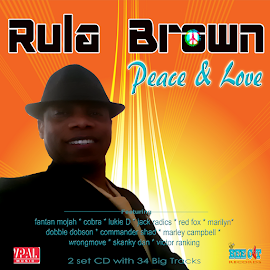 RULA BROWN - Peace and Love, 2 Set CD