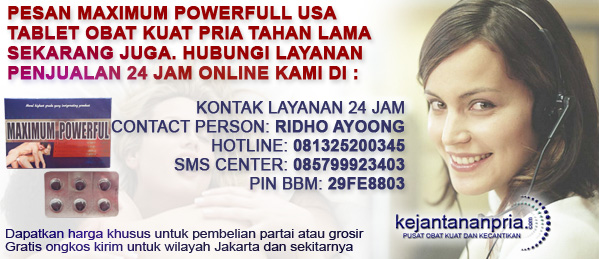 Order Obat Kuat Maximum Powerfull USA