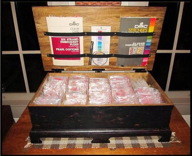 Samplers And Santas Thread Storage