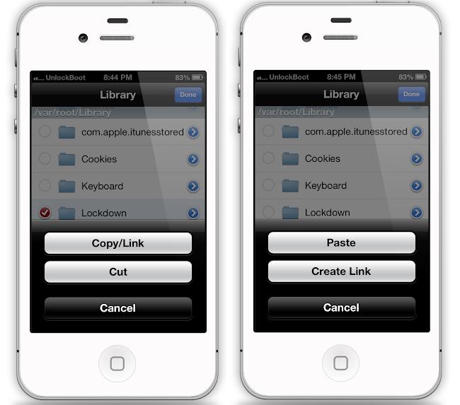Restore SAM Unlock IOS 7