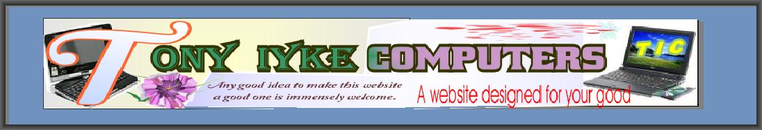 TONY IYKE COMPUTERS