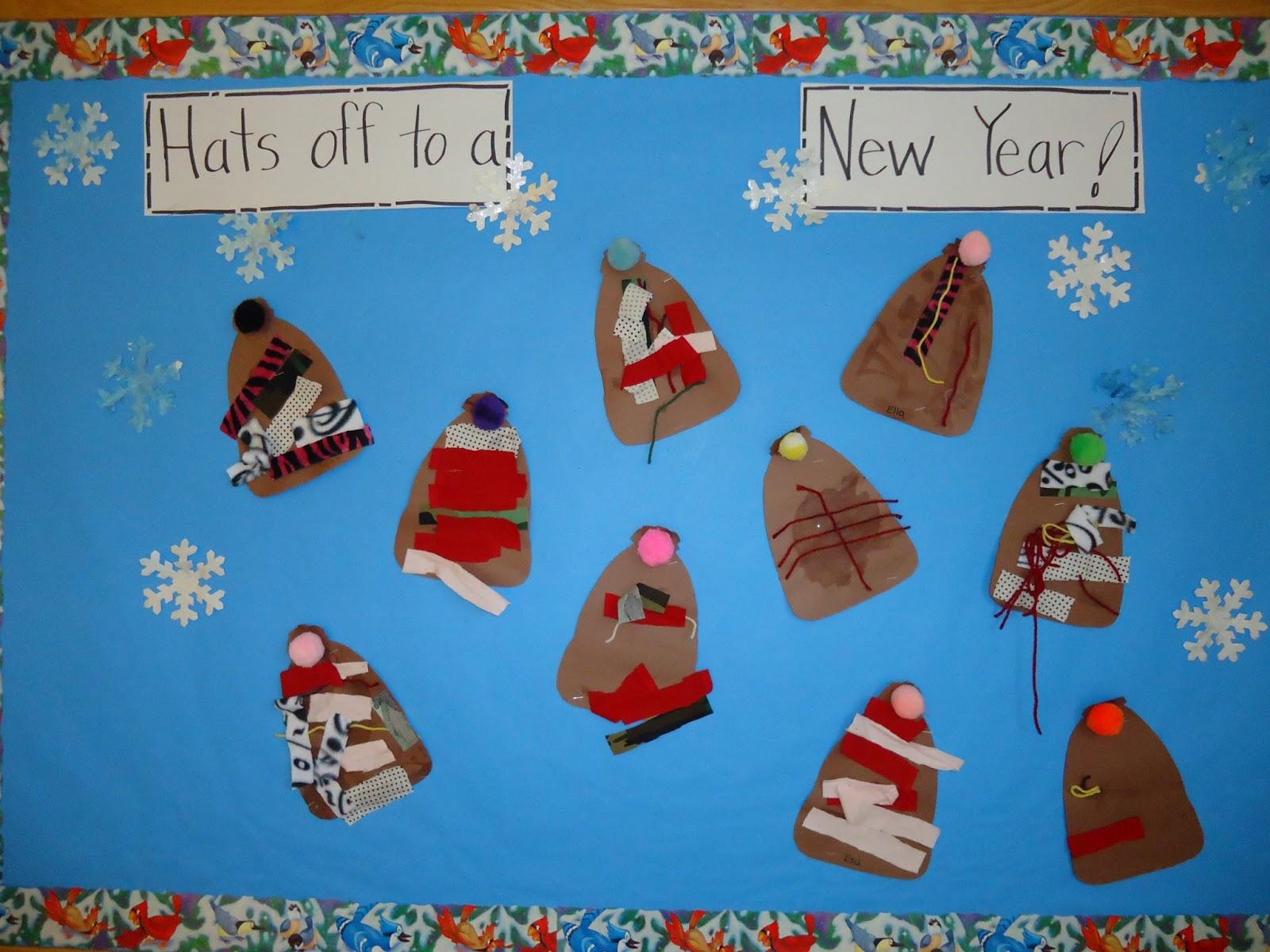 Trinity Preschool Mount Prospect Hats Off To Winter Bulletin