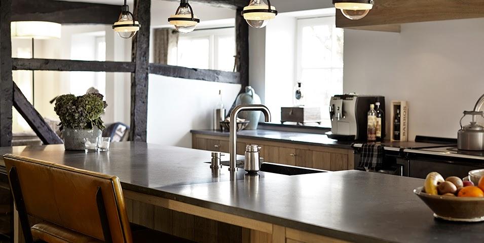 Encantadoras cocinas para casas de campo cocinas con estilo - Fotos cocinas rusticas campo ...