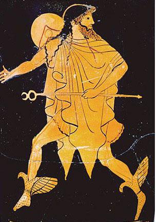 in greek mythology mercury as hermes