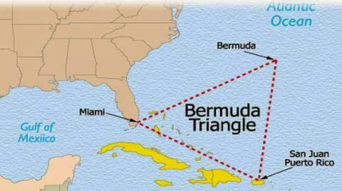 3. Tam giác quỷ Bermudalà nỗi ám ảnh của bao phương tiện qua lại